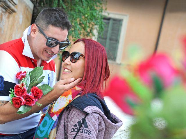 Il matrimonio di Fabrizio e Cithwann a Frascati, Roma 13