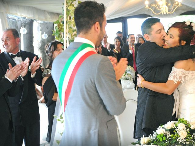 Il matrimonio di Fabrizio e Cithwann a Frascati, Roma 17
