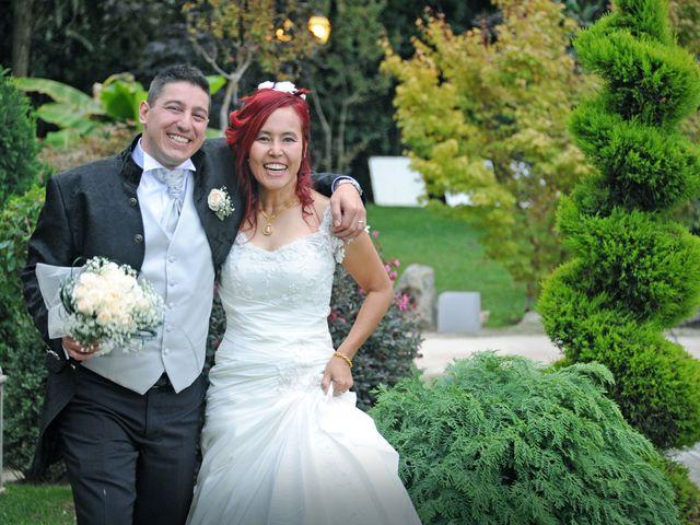 Il matrimonio di Fabrizio e Cithwann a Frascati, Roma 30