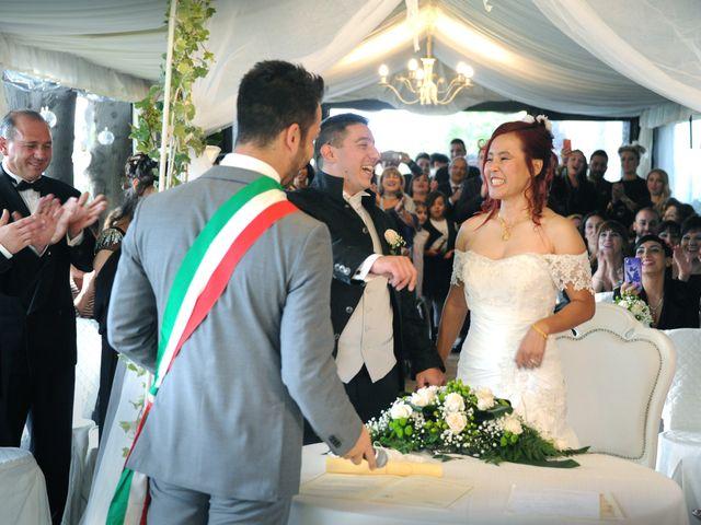 Il matrimonio di Fabrizio e Cithwann a Frascati, Roma 32