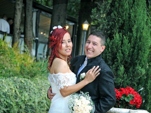 Il matrimonio di Fabrizio e Cithwann a Frascati, Roma 33
