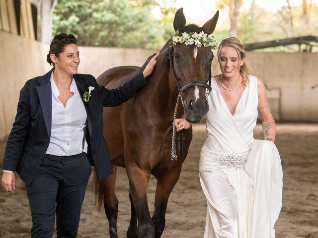 Le nozze di Linda e Nadine