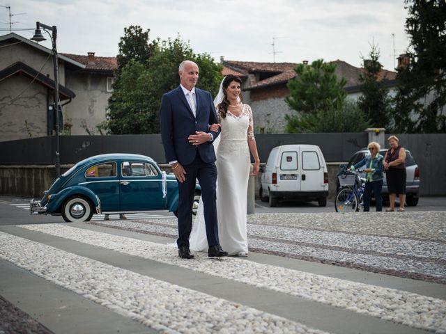 Il matrimonio di Daniel e Sabrina a Calcinate, Bergamo 15