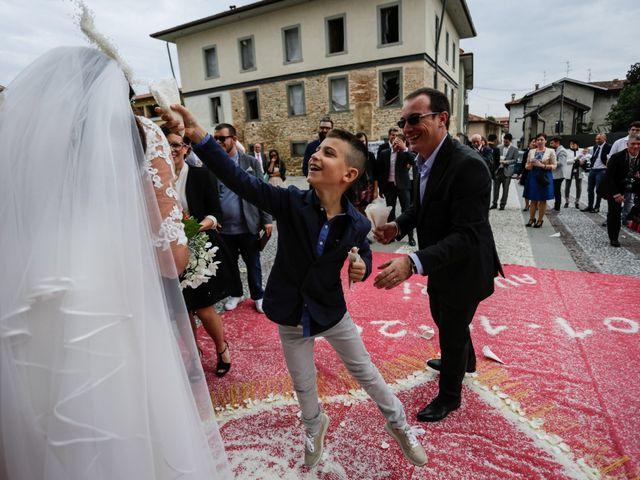 Il matrimonio di Daniel e Sabrina a Calcinate, Bergamo 28