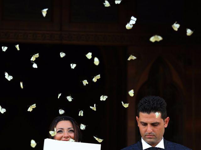 le nozze di Cettina e Vincenzo