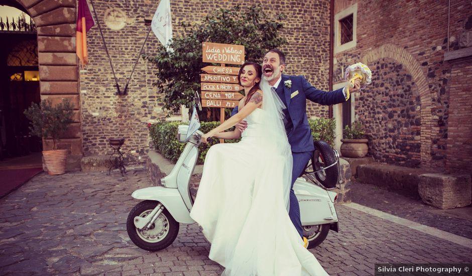 Il matrimonio di Valerio e Lidia a Roma, Roma