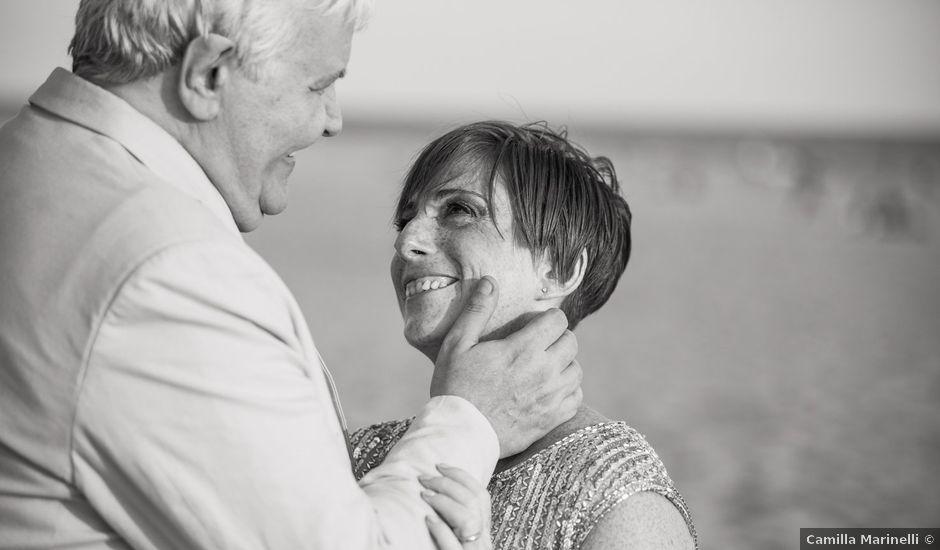 Il matrimonio di Pietro e Michela a Torvajanica, Roma
