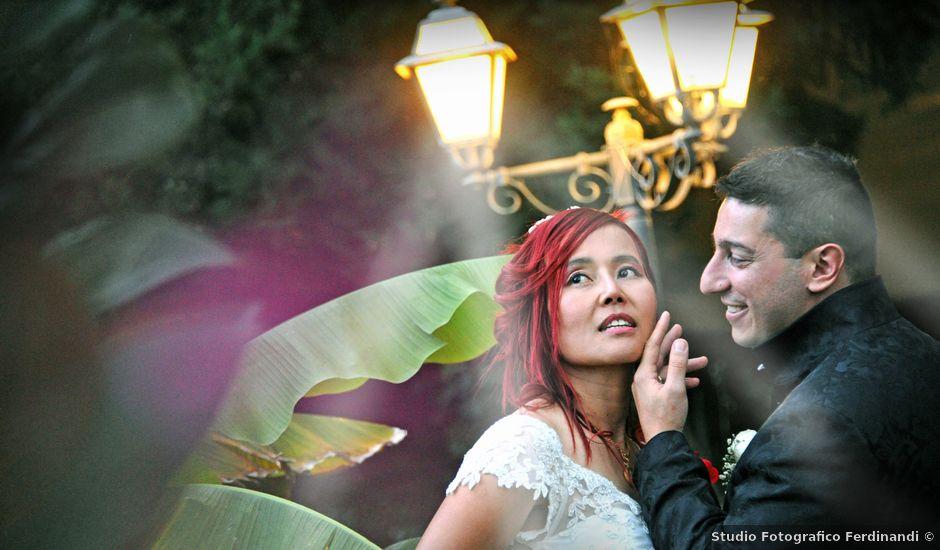 Il matrimonio di Fabrizio e Cithwann a Frascati, Roma