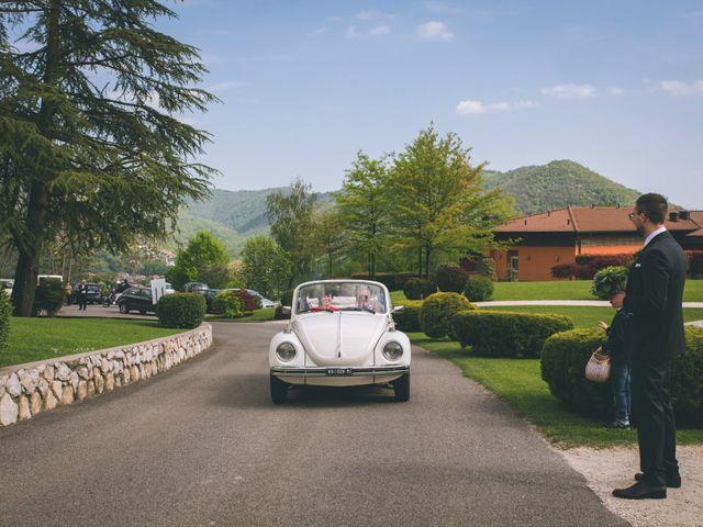 Il matrimonio di Guillaume e Laura a Nembro, Bergamo 26