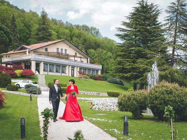 Il matrimonio di Guillaume e Laura a Nembro, Bergamo 29