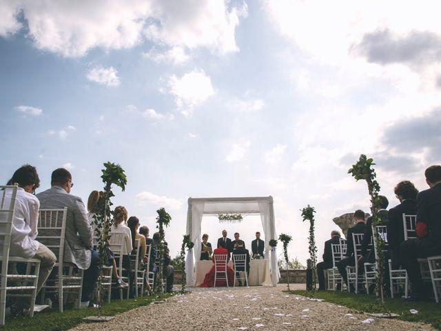 Il matrimonio di Guillaume e Laura a Nembro, Bergamo 30