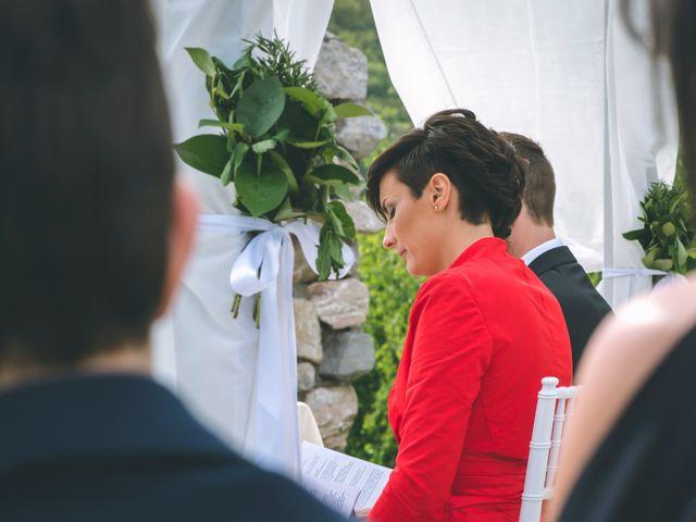 Il matrimonio di Guillaume e Laura a Nembro, Bergamo 35
