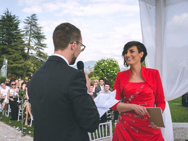 Il matrimonio di Guillaume e Laura a Nembro, Bergamo 40