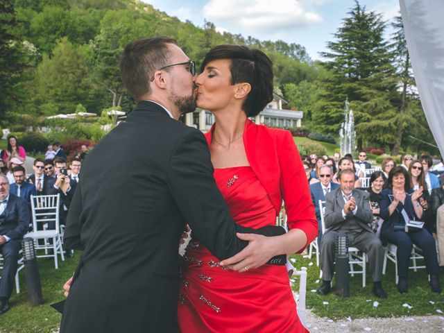 Il matrimonio di Guillaume e Laura a Nembro, Bergamo 44