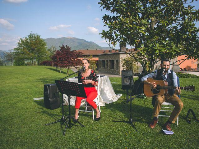 Il matrimonio di Guillaume e Laura a Nembro, Bergamo 49