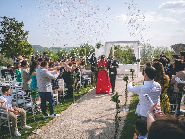 Il matrimonio di Guillaume e Laura a Nembro, Bergamo 51