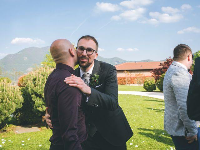 Il matrimonio di Guillaume e Laura a Nembro, Bergamo 56