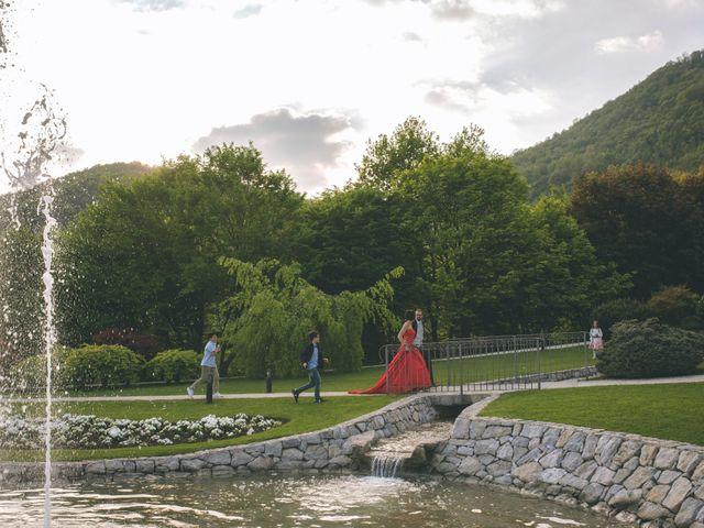 Il matrimonio di Guillaume e Laura a Nembro, Bergamo 78