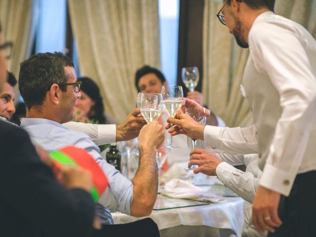 Il matrimonio di Guillaume e Laura a Nembro, Bergamo 80