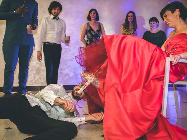 Il matrimonio di Guillaume e Laura a Nembro, Bergamo 93