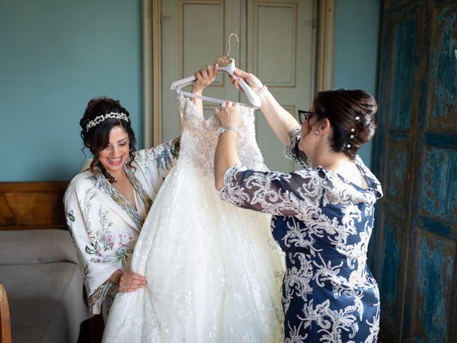Il matrimonio di Angelo e Azzurra a San Sebastiano da Po, Torino 11