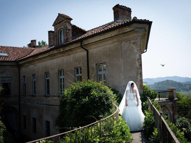 Il matrimonio di Angelo e Azzurra a San Sebastiano da Po, Torino 19