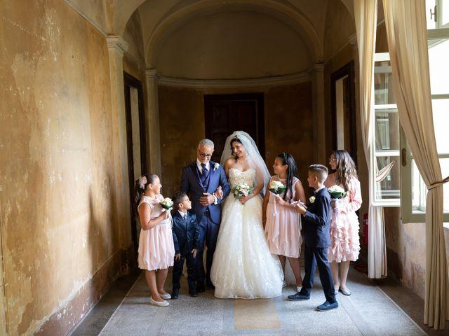 Il matrimonio di Angelo e Azzurra a San Sebastiano da Po, Torino 22