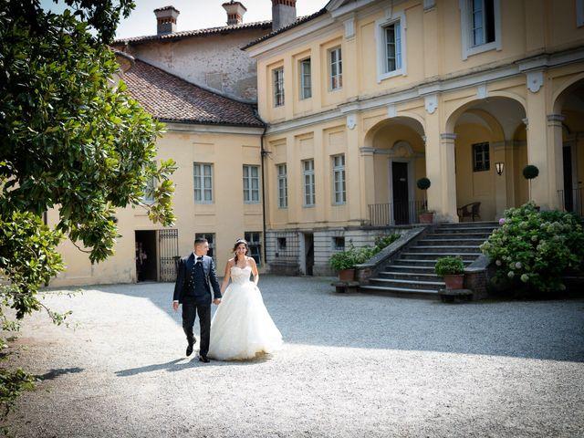 Il matrimonio di Angelo e Azzurra a San Sebastiano da Po, Torino 29