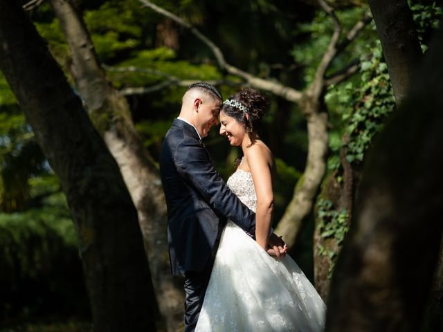 Le nozze di Azzurra e Angelo