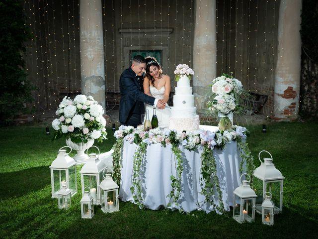 Il matrimonio di Angelo e Azzurra a San Sebastiano da Po, Torino 43