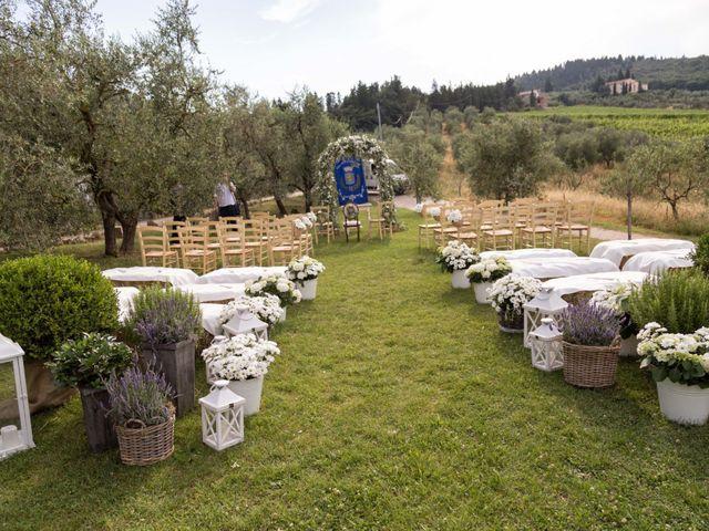 Il matrimonio di Fabio e Lara a Carmignano, Prato 14