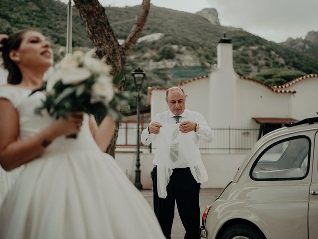 Il matrimonio di Titto e Valentina a Maiori, Salerno 94