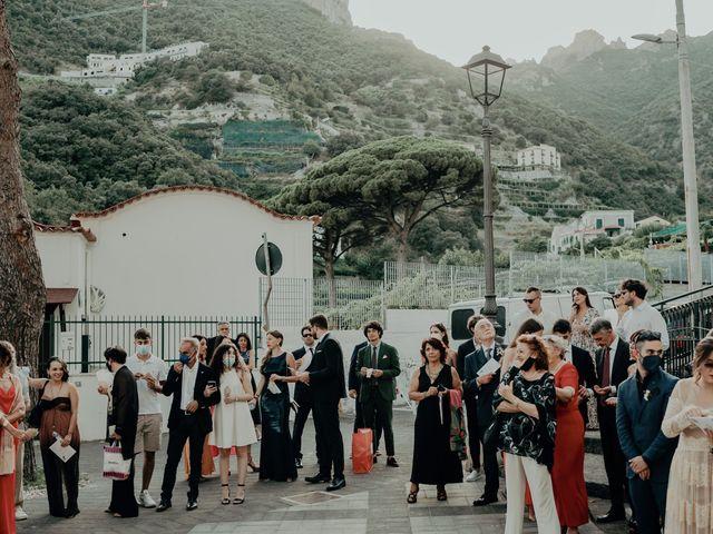 Il matrimonio di Titto e Valentina a Maiori, Salerno 109