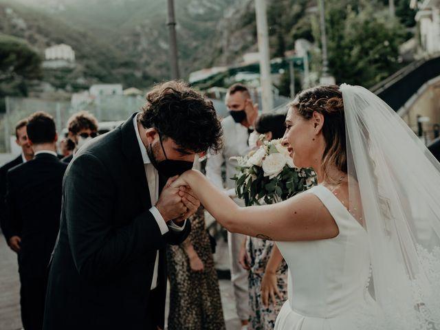 Il matrimonio di Titto e Valentina a Maiori, Salerno 113