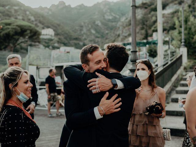 Il matrimonio di Titto e Valentina a Maiori, Salerno 114