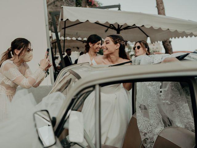 Il matrimonio di Titto e Valentina a Maiori, Salerno 117