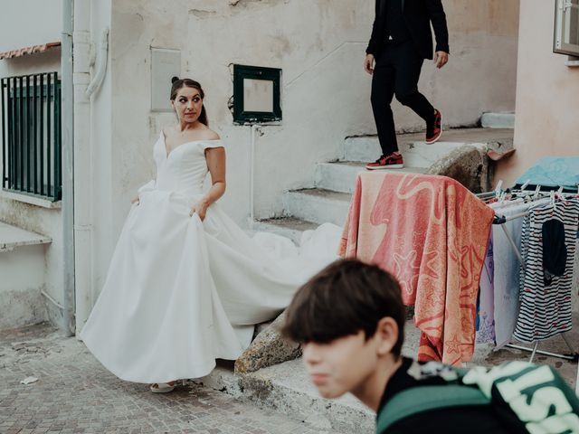 Il matrimonio di Titto e Valentina a Maiori, Salerno 122