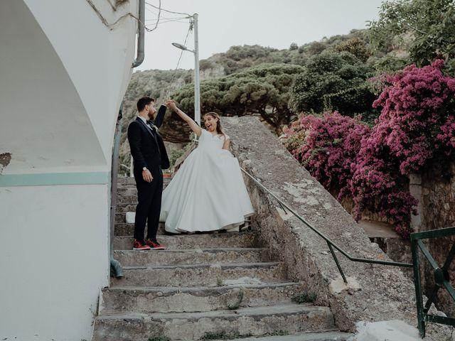 Il matrimonio di Titto e Valentina a Maiori, Salerno 123