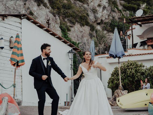 Il matrimonio di Titto e Valentina a Maiori, Salerno 131