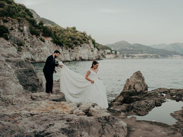 Il matrimonio di Titto e Valentina a Maiori, Salerno 138