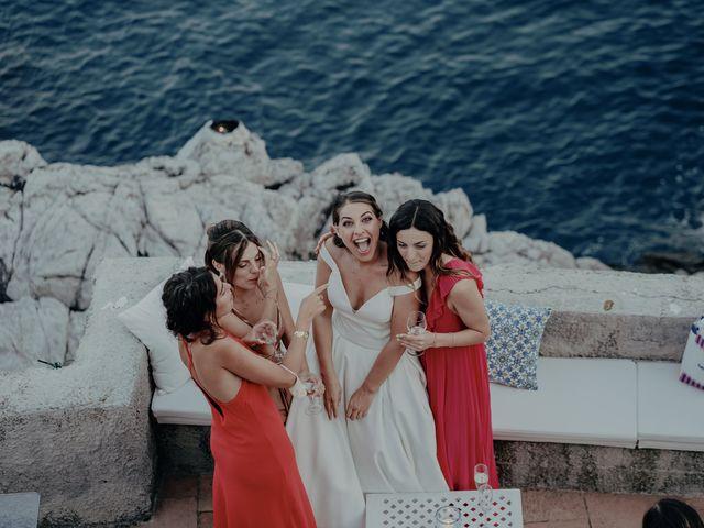 Il matrimonio di Titto e Valentina a Maiori, Salerno 146