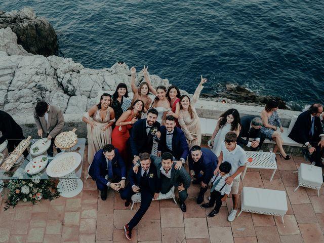 Il matrimonio di Titto e Valentina a Maiori, Salerno 147