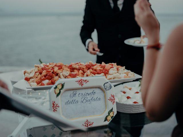 Il matrimonio di Titto e Valentina a Maiori, Salerno 149