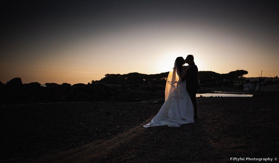 Il matrimonio di Fabio e Camilla a Santa Marinella, Roma