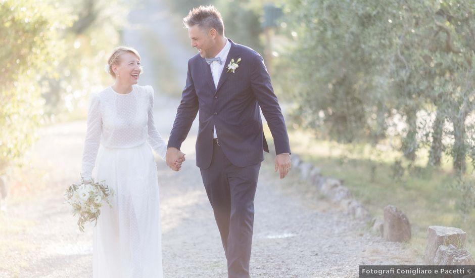 Il matrimonio di Fabio e Lara a Carmignano, Prato