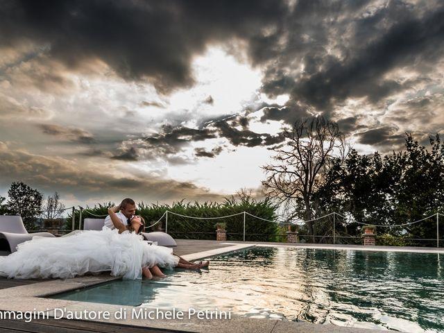 le nozze di Luca e Deborah