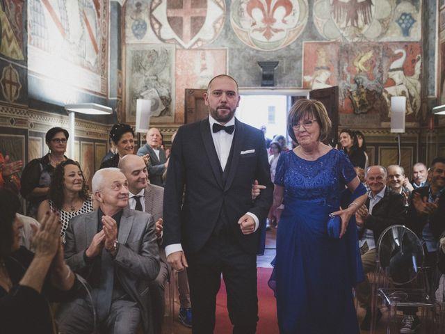 Il matrimonio di Daniele e Marianna a San Miniato, Pisa 19