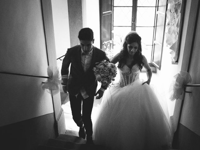 Il matrimonio di Daniele e Marianna a San Miniato, Pisa 22
