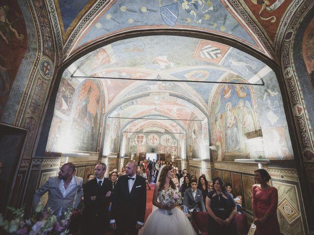 Il matrimonio di Daniele e Marianna a San Miniato, Pisa 23