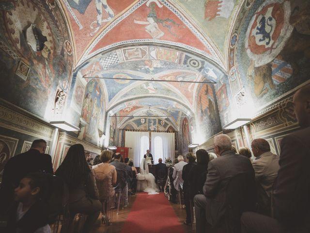 Il matrimonio di Daniele e Marianna a San Miniato, Pisa 27